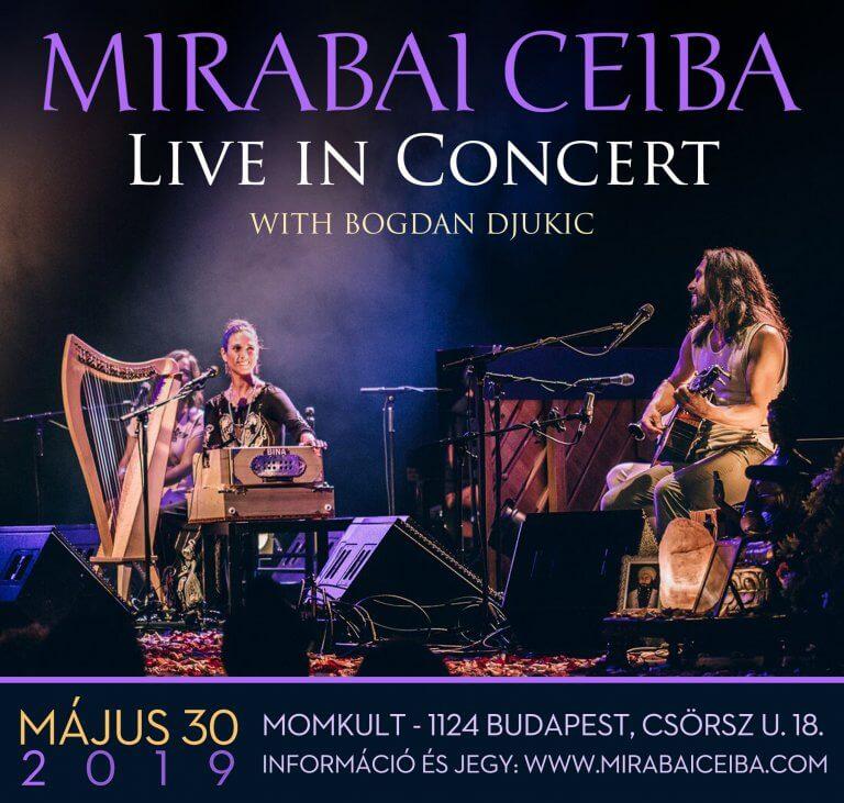 Mirabai Ceiba | Agua de Luna turné
