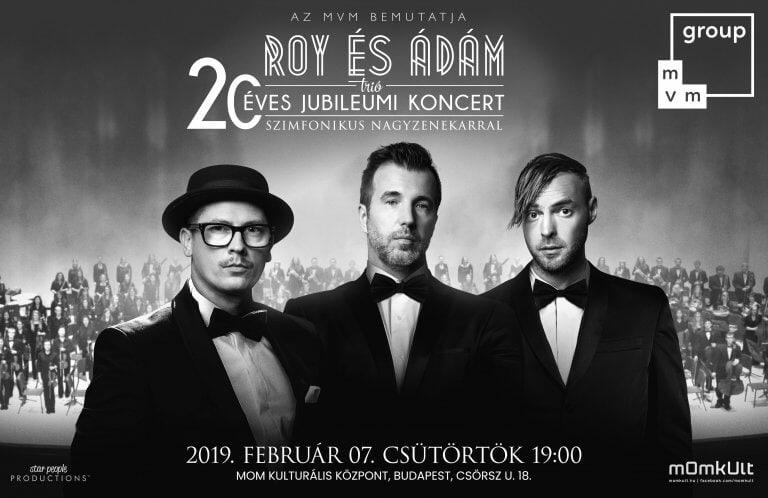 Roy és Ádám | 20 éves jubileumi koncert, szimfonikus nagyzenekarral