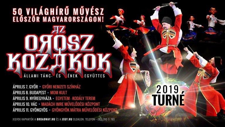 Az orosz kozákok | Állami Tánc- és Énekegyüttes