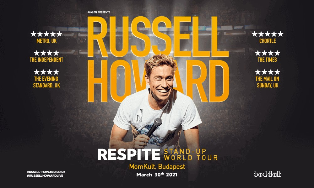 Respite – Live in Budapest   Russell Howard