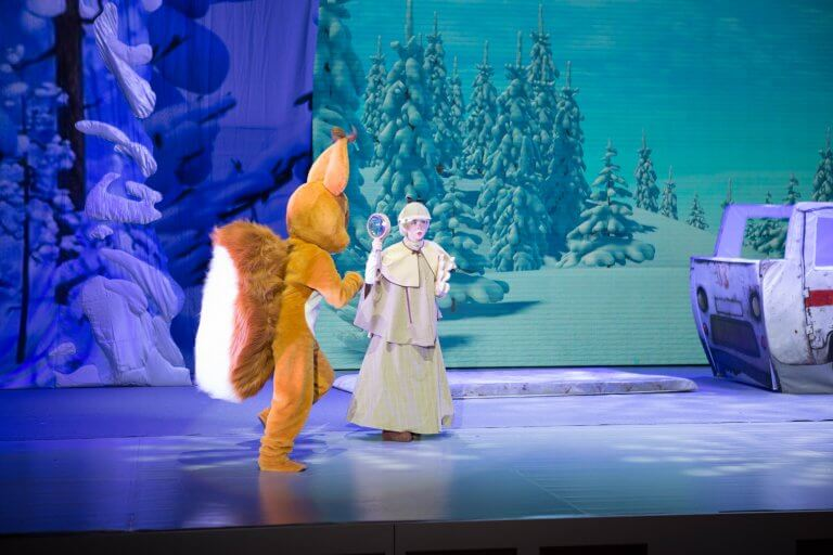 Masha és a Medve   Karácsonyi Kaland
