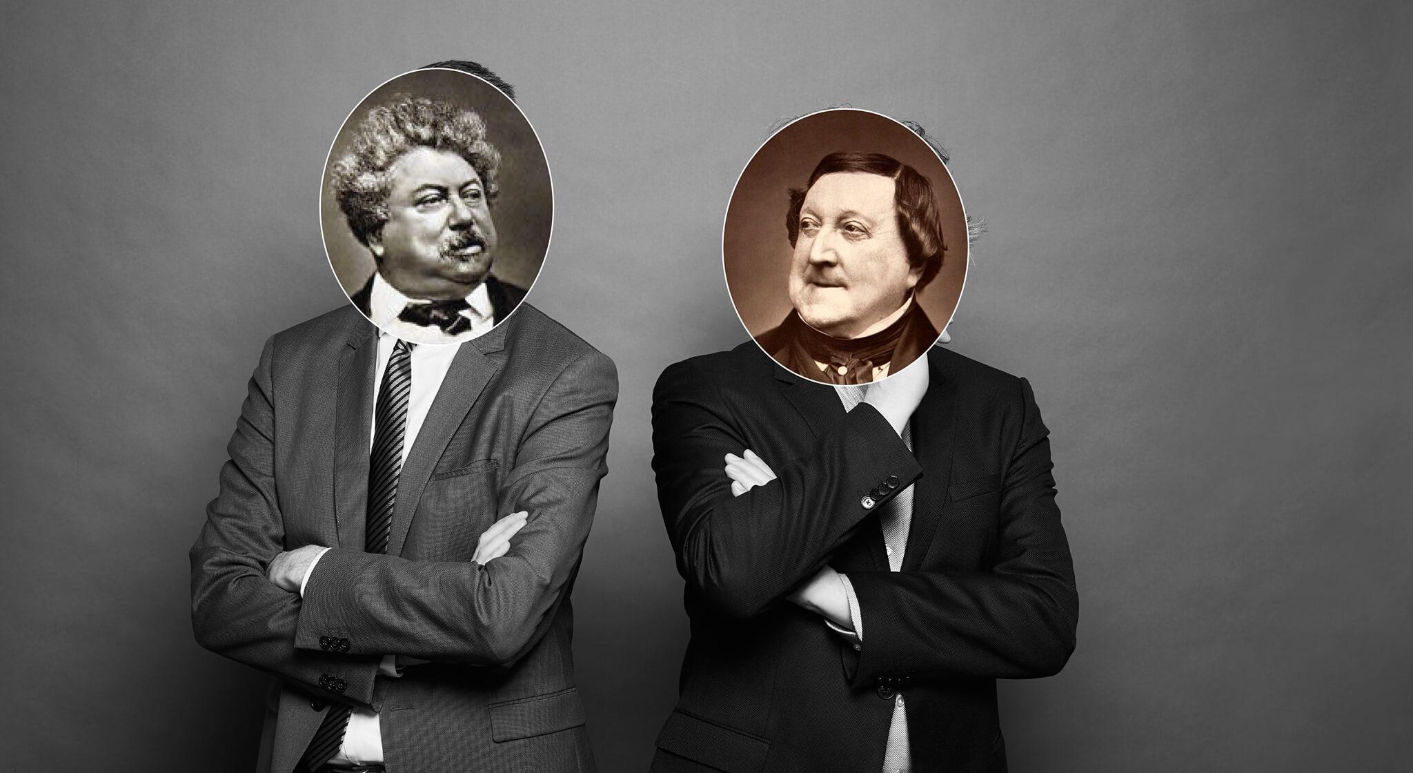Rossini – Id. Dumas   Páratlan párok