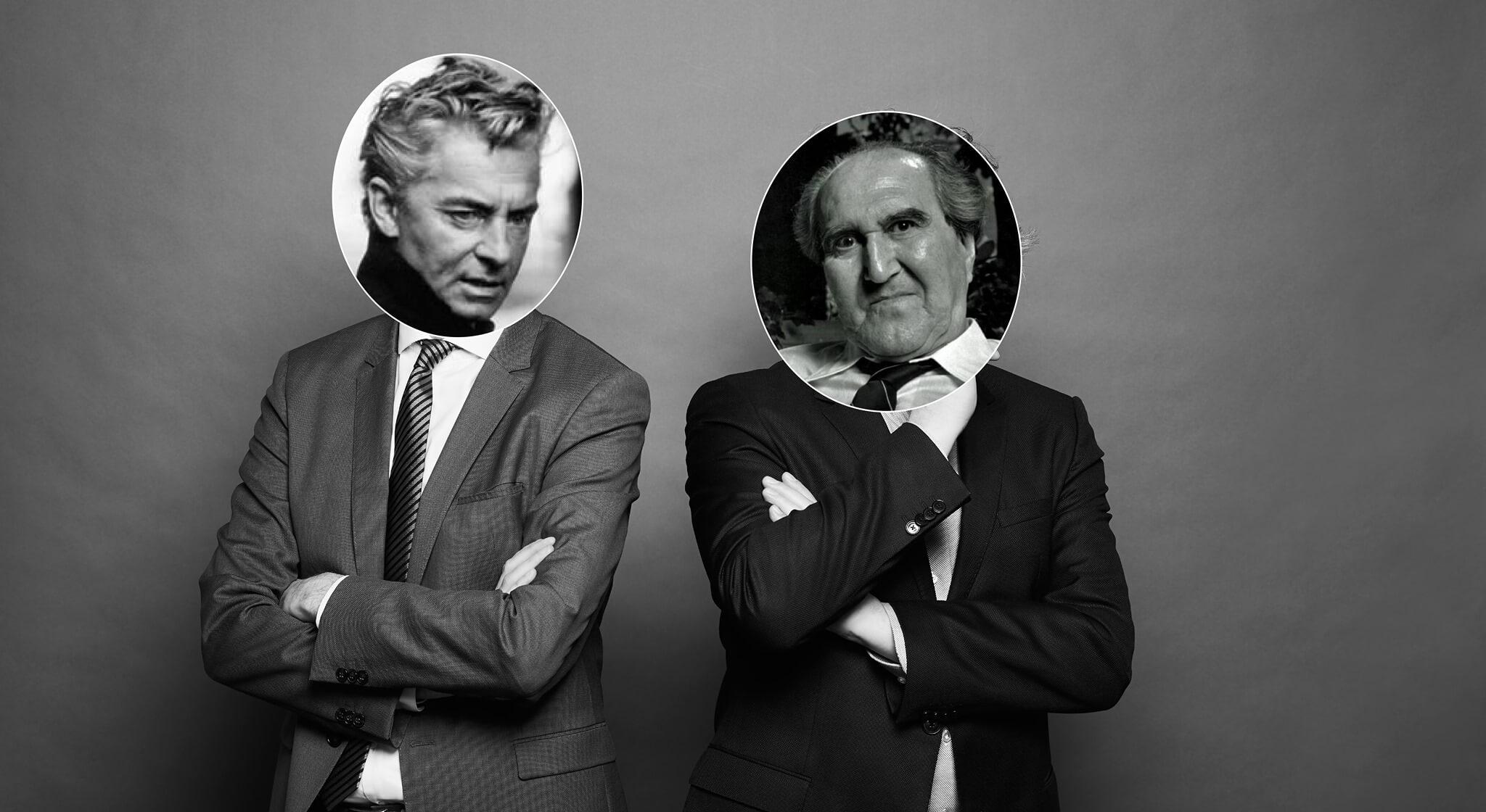 Karajan – Szentkuthy   Páratlan párok