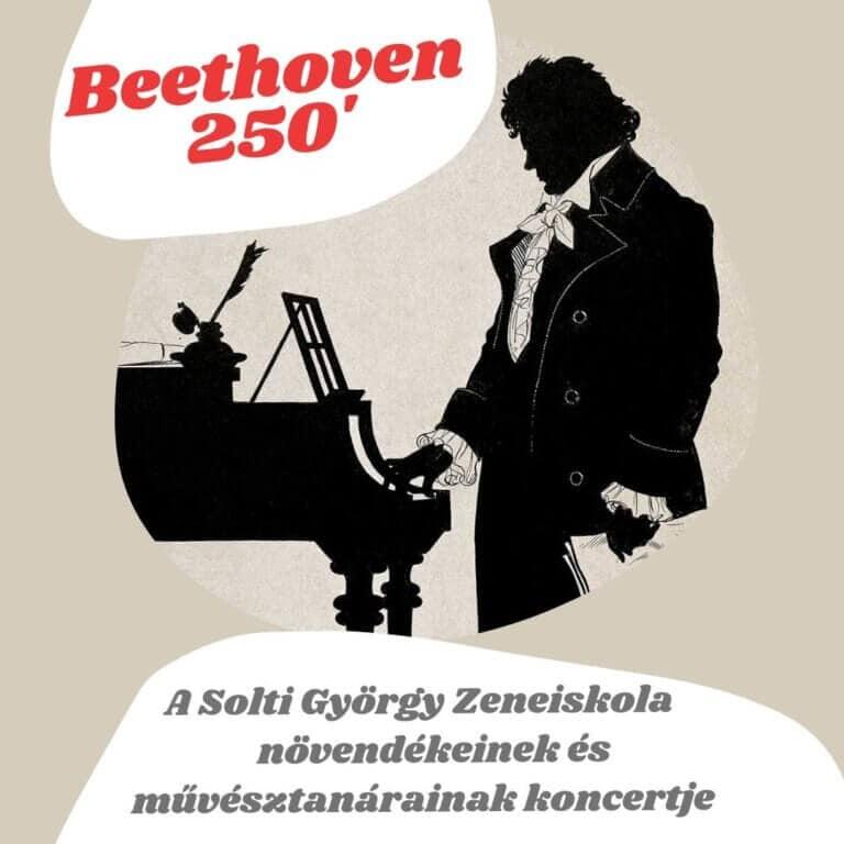 Beethoven 250 | A Solti György Zeneiskola hangversenye