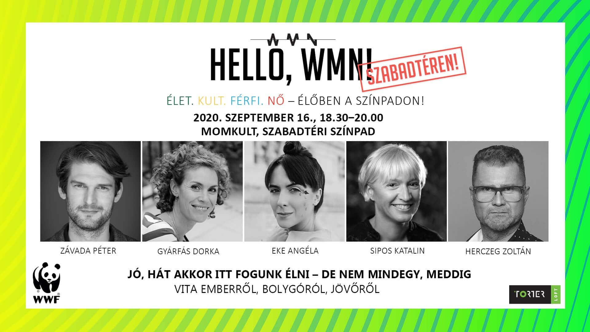 Hello, WMN! – SZABADTÉREN!