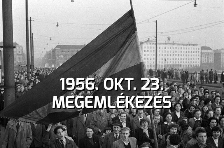 Megemlékezés I Október 23.